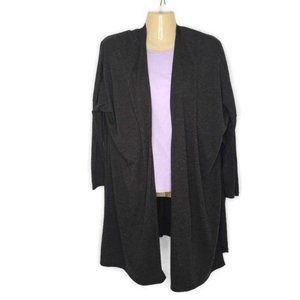 Lucy Lightweight Wool Blend Split Cardigan Size Sm